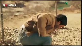سکانس قصر شیرین ، درگیری برادرهای شیرین با جلال (حامد بهداد)