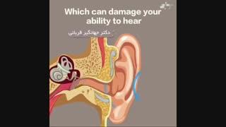 پاک کردن گوش با گوش پاک کن