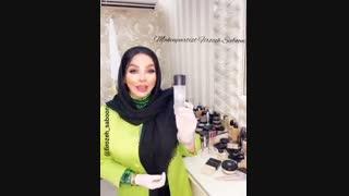 معرفی محصولات و لوازم آرایش  مورد استفاده در میکاپ _ فیروزه صابونی