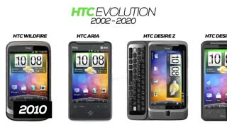 HTC Phones Evolution 2002-2020