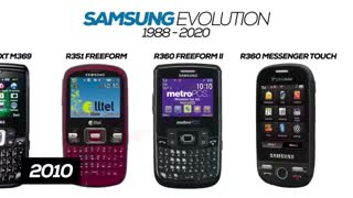All Samsung Phones Evolution 1988-2020