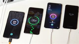 مقایسه سریع ترین شارژرهای موبایلی جهان در 10 گوشی پرچمدار