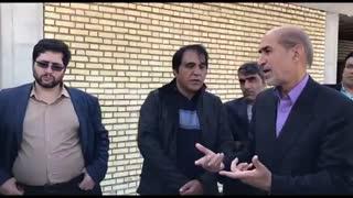 بازدید مشاور وزیر نفت در امور طرح های عمرانی مناطق نفت خیز از پروژه های ورزشی دشتی و تنگستان - آذر 97