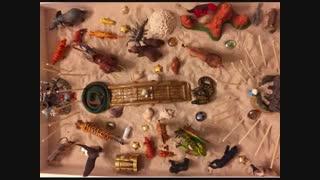 شن بازی درمانی در کلینیک خانواده ایرانی شعبه پاسداران