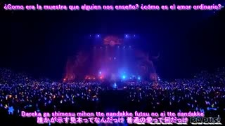 LiSA - Rising Hope Sub español LiVE is Smile Always ~NEVER ENDiNG GLORY~ 'the Moon'