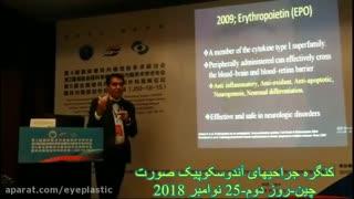 پروفسور کشکولی در کنگره بین المللی جراحیهای آندوسکوپی صورت در چین
