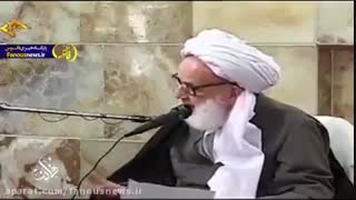توصیه آیت الله مجتهدی تهرانی برای زمان زلزله