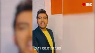 """پشت صحنه ویدیو کلیپ """" آتیش """" از فرزاد فرزین"""