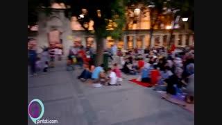 ماه رمضان در استانبول | افطار در میدان سلطان احمد