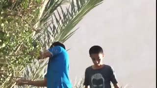فیلم لو رفته از دانش اموزان مدرسه ترکمان از دزدی برای نمایش در مدرسه علیرضا صدری