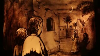 اون که شب میومد تک و تنها، روی شـونه ش نـون و خرمــا، حالا فهمیدنـد که کـــی بـوده...