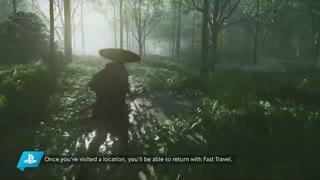 ویدئوی 18 دقیقهای از گیمپلی بازی Ghost of Tsushima