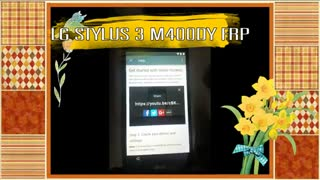 Lg Stylus 3 M400DY Android 7.0 Frp By Pass Done Very Easy Solution