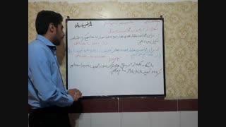 نکاتی ازکاربرد درصد در محاسبات مالی ریاضی ششم آموزگار محمد نصیری روشتی