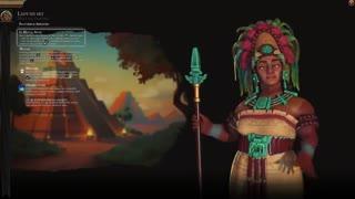 تریلر معرفی تمدن مایا به رهبری Lady Six Sky در Civilization VI
