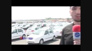 ویدیوی برخورد با محتکران خودرو ها