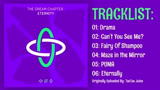 TXT(TOMORROW X TOGETHER)- 3rd Mini Album [The Dream Chapter : ETERNITY] 4-6