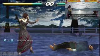 شباهت های شخصیت Anna Tekken 7 در PSP vs PS4 , PC