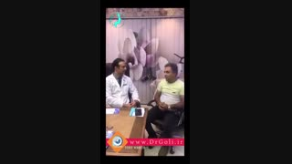 جراحی بینی زن و شوهر | دکتر گلی