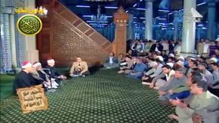 روائع الشیخ عبدالتواب البساتینی ویدیو ابتهال عام 1993 // مدارس التلاوة