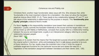 اصول و مبانی نظری ترجمه - فصل پنجم - قسمت چهارم