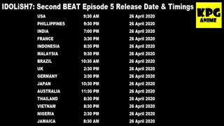 IDOLiSH7: Second BEAT Episode 5 Release Date & Timings