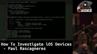 نحوه بررسی و تحقیق جرم شناسی بر روی دستگاه های IOS