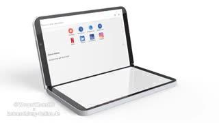 اولین تصویر از رندر نسل دوم تبلت Surface Duo مایکروسافت