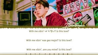 ویدئو لایریک آهنگ r u ridin از آلبوم Delight بکهیون اکسو Baekhyun EXO