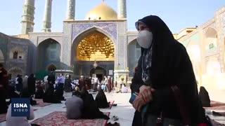 بازگشایی حرمهای امام رضا و حضرت معصومه پس از هفتهها تعطیلی
