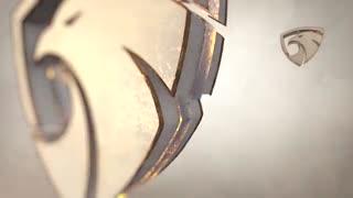 دانلود رایگان پروژه آماده افترافکت لوگو سه بعدی طلایی و شیک
