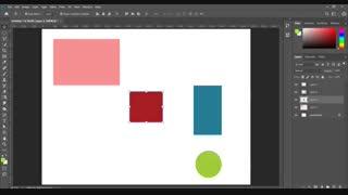 ابزار move و artboard فتوشاپ (جلسه چهارم)