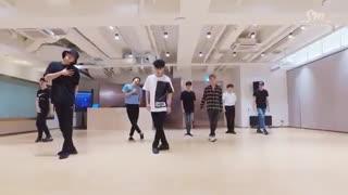 تمرین رقص The Eve از اکسو