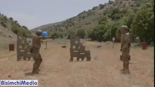 گوشه ای از آمادگی حزب الله