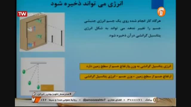 علوم تجربی پایه هفتم - فصل هشتم - انرژی - آموزشگاه ایران من