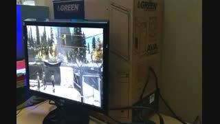 کیس گیمینگ i7 با RX570  قدرتمند و حرفه ای