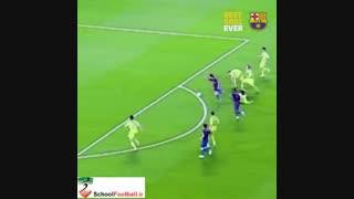 قشنگترین گل تکنیکی مسی از نظر باشگاه بارسا