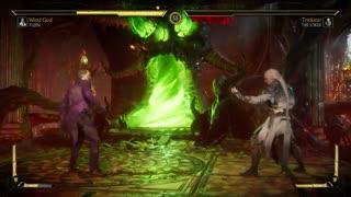 مبارزه جوکر و فوجین در Mortal Kombat 11-بازیمگ