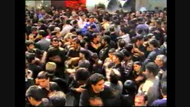 هیئت بزرگ تکیه اباالفضل(ع) ملایر-حاج محمدتقی حیدررضایی-عاشورای 1383