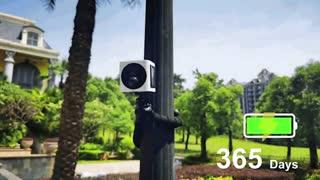 آی کیوب؛ دوربین امنیتی هوشمند خورشیدی!