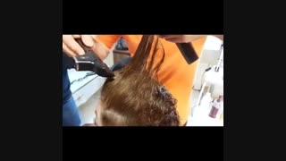 روش استفاده از قیچی برقی آرایشگری