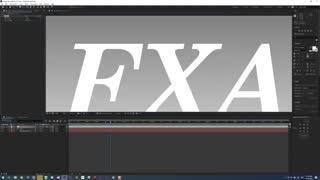 آموزش استفاده اسکریپت افترافکت FXAA Fast approximate anti-aliasing