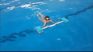 چگونه در آب به راحتی و بدون زحمت شنا کنیم؟