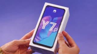جعبه گشایی و بررسی اولیه گوشی HUAWEI Y7p