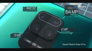 تریلر رسمی گوشی شیائومی مدل Redmi Note 9 Pro Max