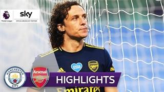 خلاصه بازی آرسنال 0 - منچسترسیتی 3  از هفته 29 لیگ برتر انگلیس