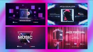 24 ویژوالایزر موزیک افترافکت