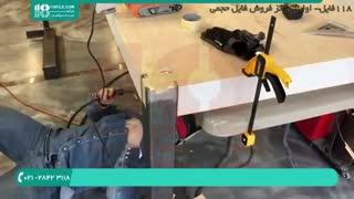 آموزش کامل میز اپوکسی ناهار خوری چوبی