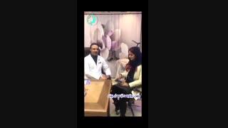 قبل و بعد از جراحی بینی  دکتر گلی جراح بینی تهران