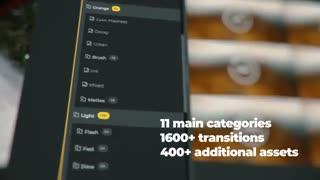1600+ ترانزیشن حرفه ای افترافکت